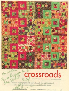 Quilter's Home Magazine