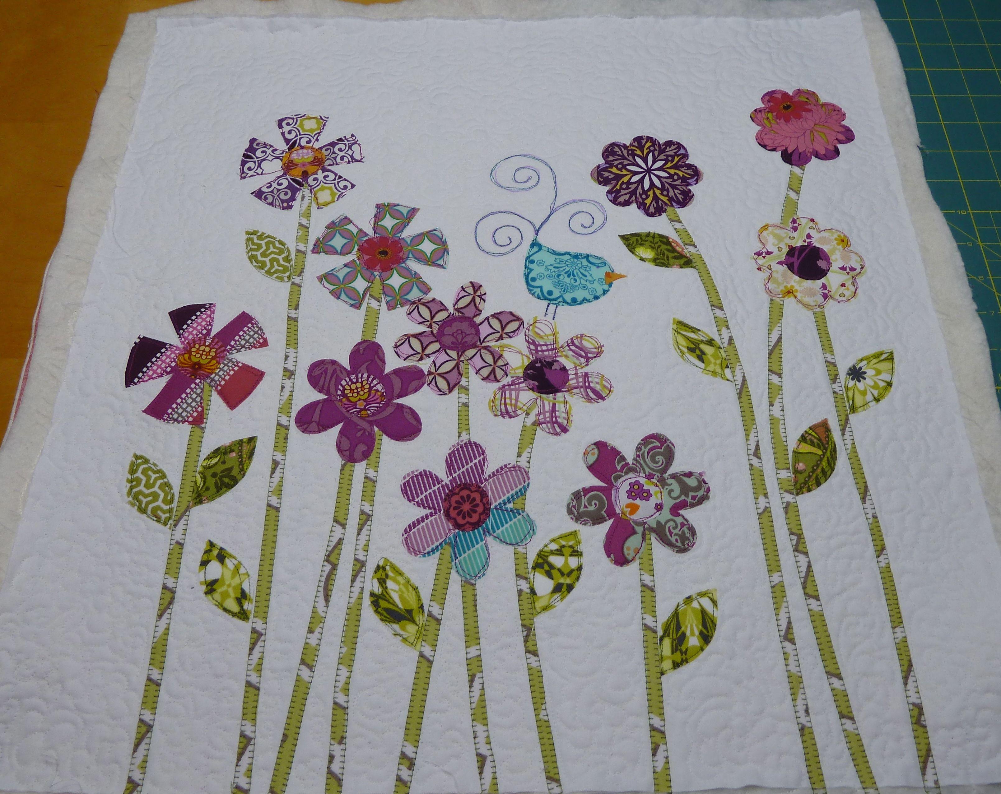 Don T Look Now Flower Garden Bending Pins