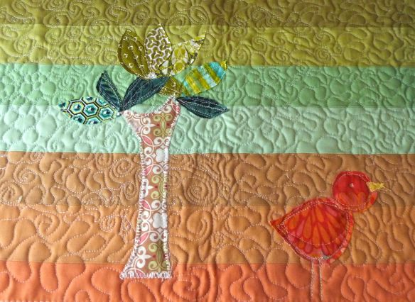 Free Motion Quilting and Applique