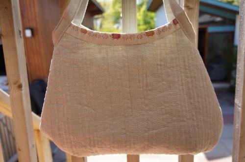 Bending Pins Zakka Style Bag