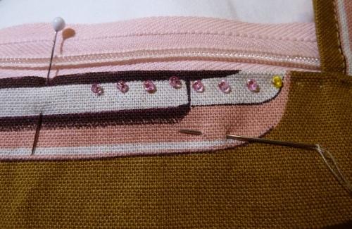 Bending Pins: Hand Picked Zipper