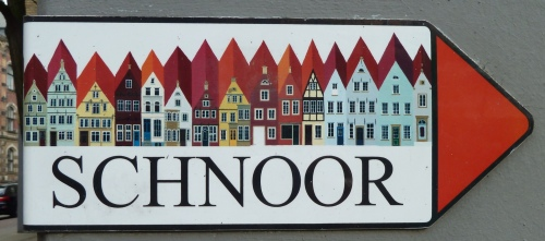 Sign from the Schnoor