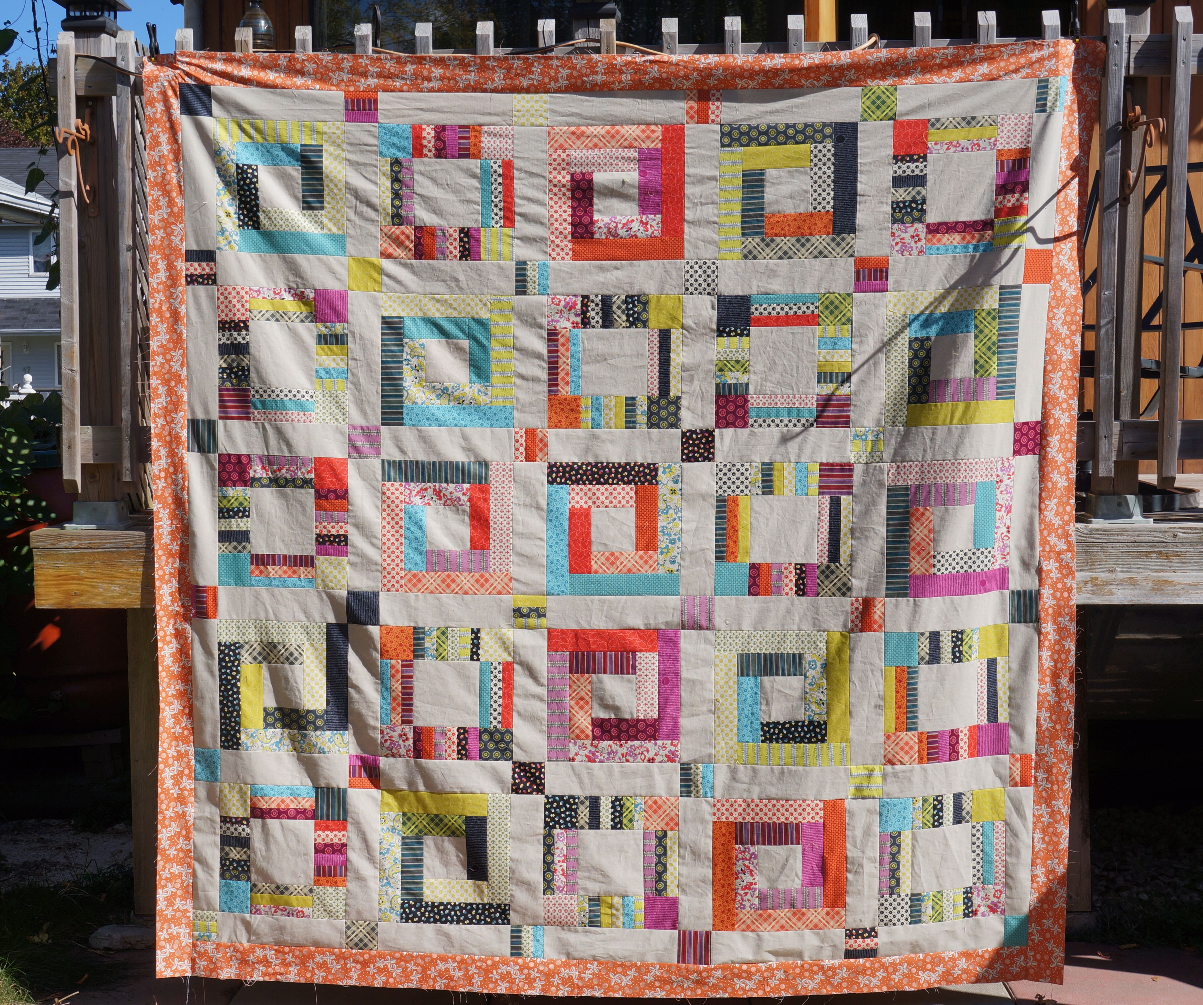 from part a youtube log roll starry watch quilt cabins cabin jelly