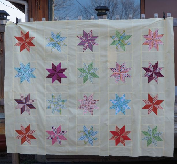Modern Mabel Quilt Top