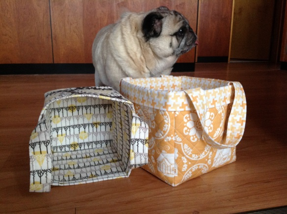 Bending Pins: Pretty Quilted Boxes