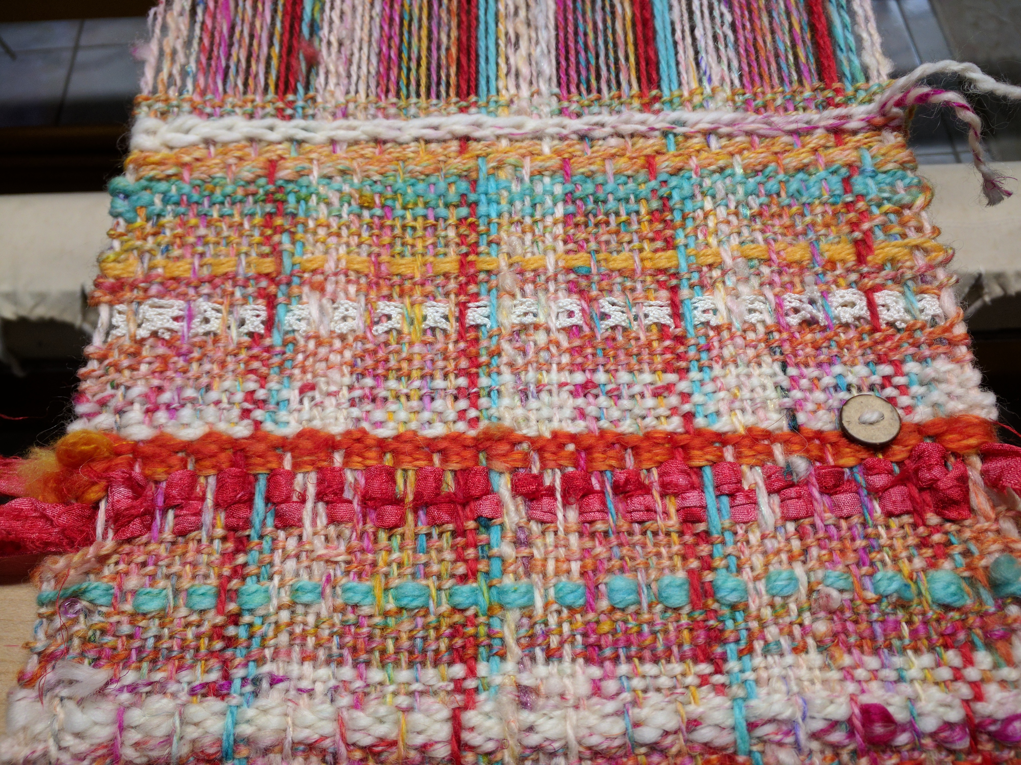 Chanel Update and a lot More Weaving | Bending Pins